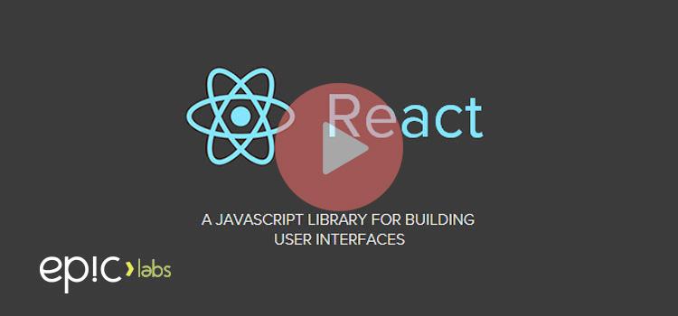 Scaffolding de aplicaciones con React Javascript Library