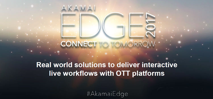 Epic Labs to participate on a panel session at Akamai Edge