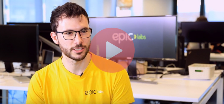A day at Epic Labs, with Alvaro Escarcha. Discover how is a day at Epic Labs