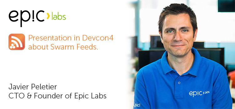 Swarm Feeds Devcon4 presentation to Javier Peletier's presentation